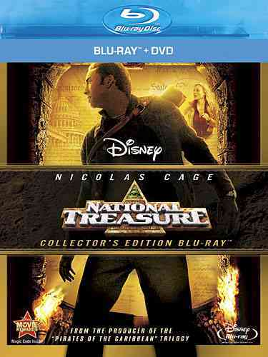 NATIONAL TREASURE BY CAGE,NICOLAS (Blu-Ray)